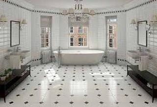 marmer lantai kamar mandi